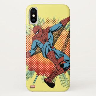 Retro Spider-Man Spidey Senses iPhone X Case