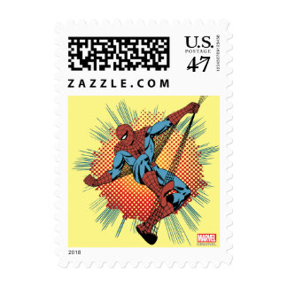 Retro Spider-Man Spidey Senses Postage