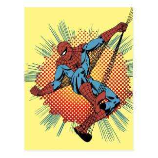 Retro Spider-Man Spidey Senses Postcard