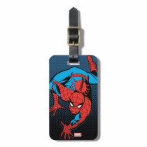 Retro Spider-Man Wall Crawl Bag Tag