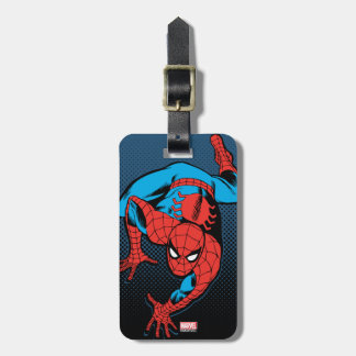 Retro Spider-Man Wall Crawl Bag Tag