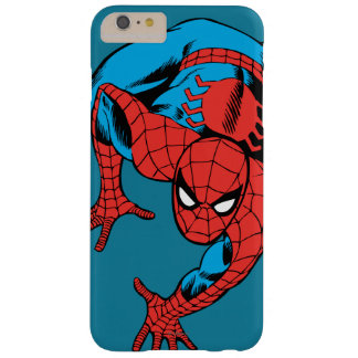 Retro Spider-Man Wall Crawl Barely There iPhone 6 Plus Case