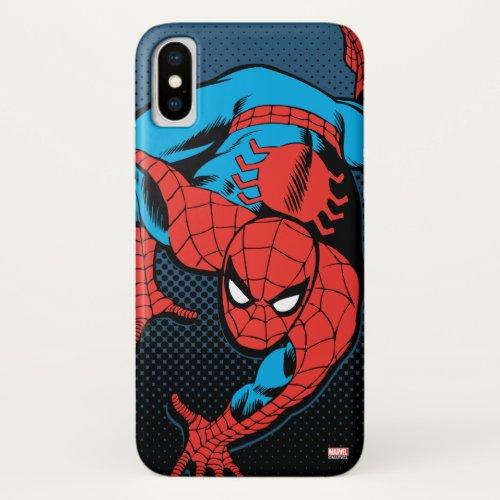 Retro Spider-Man Wall Crawl Phone Case