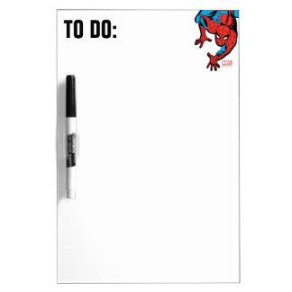 Retro Spider-Man Wall Crawl Dry Erase Board