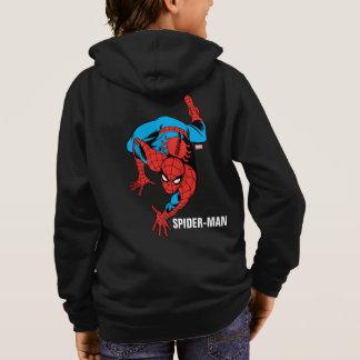 Retro Spider-Man Wall Crawl Hoodie