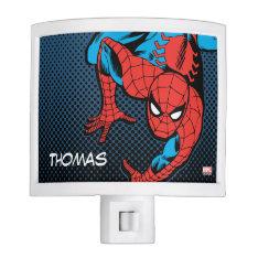Retro Spider-man Wall Crawl Night Light at Zazzle