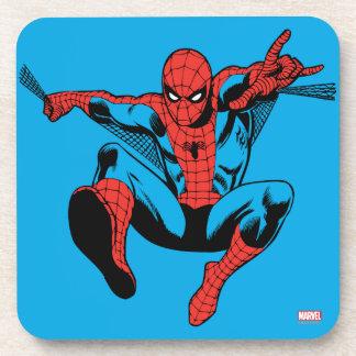 Retro Spider-Man Web Shooting Beverage Coaster