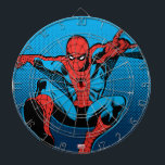 "Retro Spider-Man Web Shooting Dartboard With Darts<br><div class=""desc"">Check out this vintage Spider-Man swinging and web shooting!</div>"