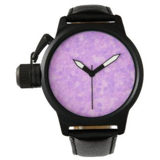 Retro Splash Lavender Purple Watch