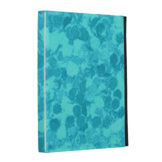 Retro Splash Turquoise Teal iPad Folio Cover