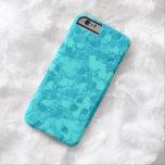 Retro Splash Turquoise Teal iPhone 6 Case