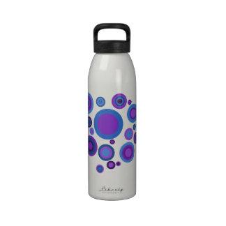 Retro Spots Water Bottles