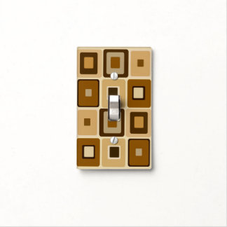 Retro Square Lightswitch Cover Light Switch Cover