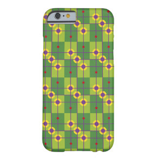 Retro squared pattern barely there iPhone 6 case