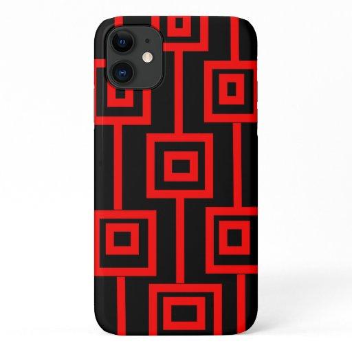 Retro Squares iPhone 11 Case