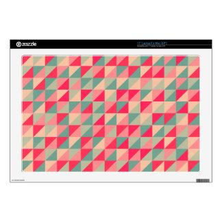 retro squares laptop skin