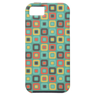 Retro Squares -Retro Colors- iPhone SE/5/5s Case