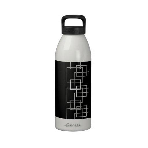 Retro Squares Drinking Bottles