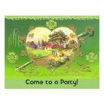 Retro St. Patrick's Day Party Invitations!