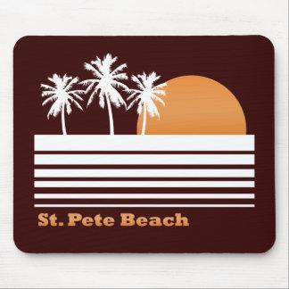 Retro St Pete Beach Mousepad