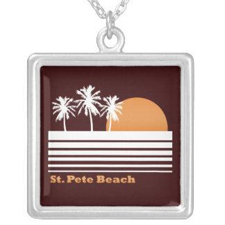 Retro St Pete Beach Necklace