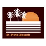 Retro St Pete Beach Postcard