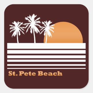 Retro St Pete Beach Stickers