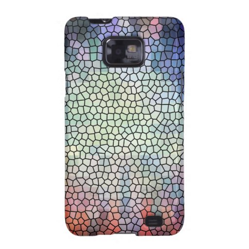 Retro stained glass galaxy SII cover