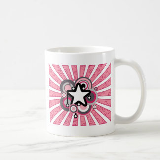 Retro Star Burst Coffee Mug