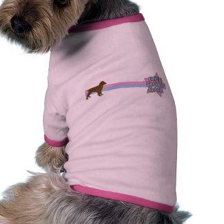 Retro Star English Springer Spaniel Dog Shirt