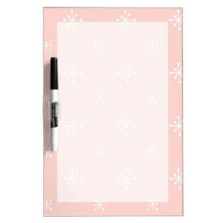 Retro Star Pattern Dry-Erase Board