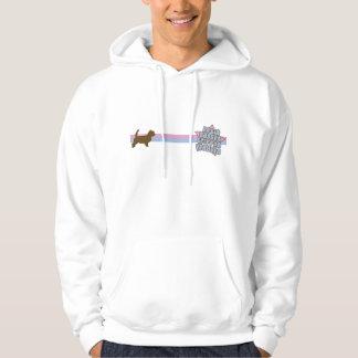Retro Star Petit Basset Griffon Vendeen Hooded Pullovers