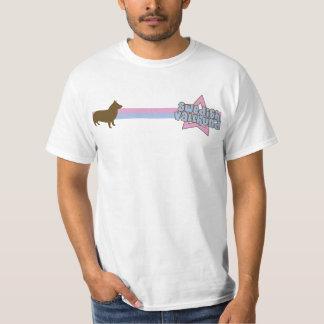 Retro Star Swedish Vallhund T-Shirt