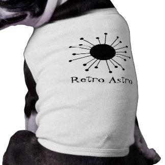 Retro Starburst Dog Tshirt