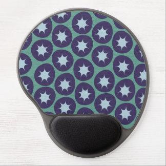 Retro Starburst Pattern Gel Mouse Pad