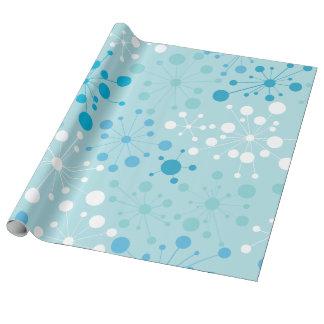 Retro Starburst Wrapping Paper