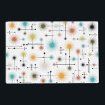 """Retro Starbursts A Go-Go! Placemat<br><div class=""""desc"""">Jazz up any party or everyday table with this cool retro starburst design! It&#39;s hip AND happenin&#39; all at once!</div>"""
