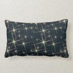 Retro Starfield Pillow