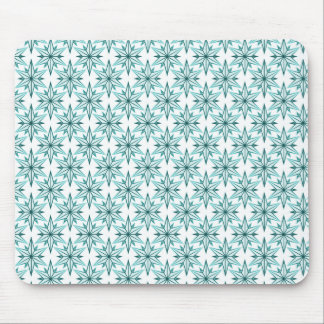 Retro Starlight Mousepad, Turquoise Mouse Pad