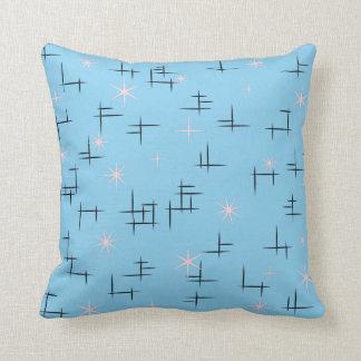 Retro Stars Throw Pillows