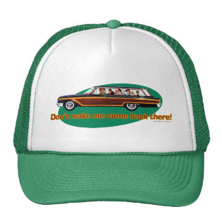 Retro Station Wagon  (Brown & Green) Trucker Hat