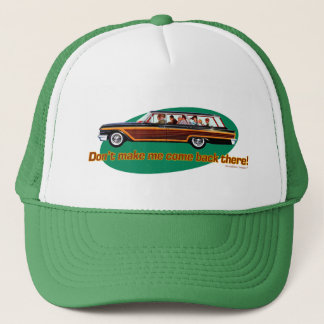 Retro Station Wagon  (Brown & Green) Trucker Hat