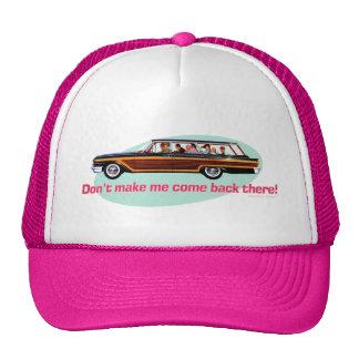 Retro Station Wagon  (Pink & Blue) Trucker Hat