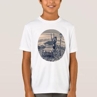 Retro Steam Cab-Taxi T-Shirt