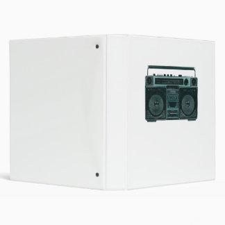 retro stereo binder