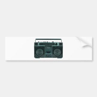retro stereo bumper stickers