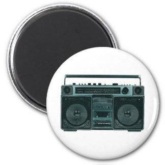retro stereo magnet