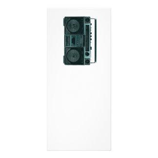 retro stereo rack card