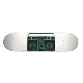 retro stereo skateboard