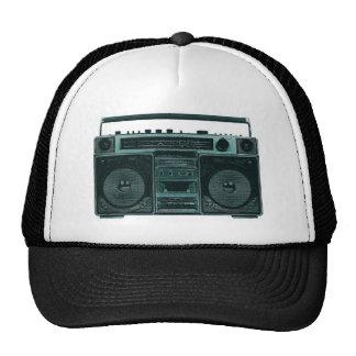 retro stereo trucker hat